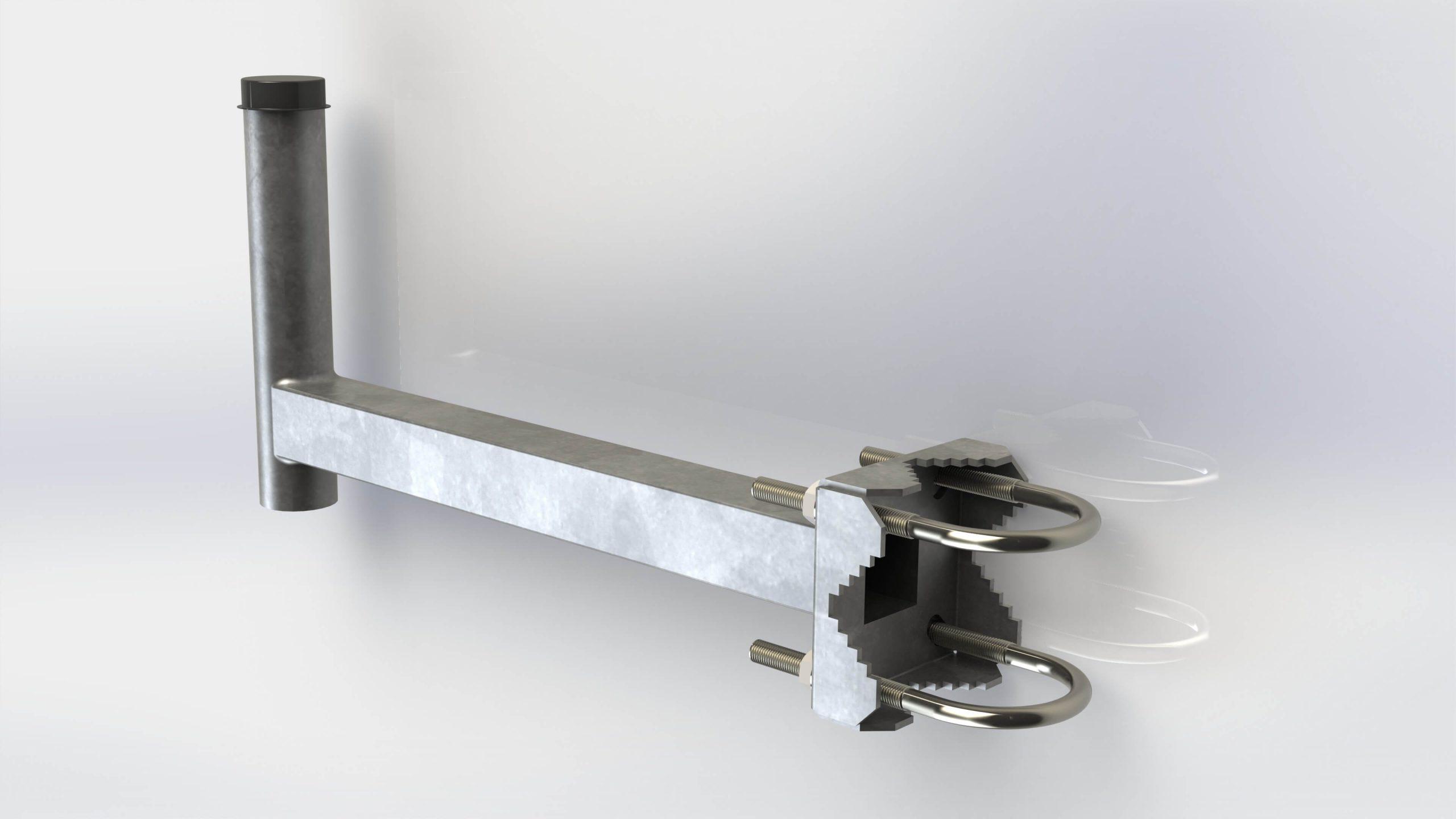 Erkélytartó 40cm horganyzott M10